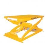 Table hydraulique ergonomique à ciseau
