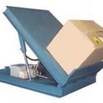 Table hydraulique à bascule et rotative