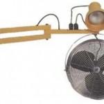 Lampe avec ventilateur