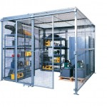 Cloison mini-entrepôt