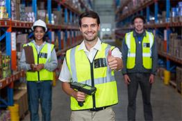 sécurite en entrepôt