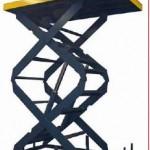 Table hydraulique à double ciseaux