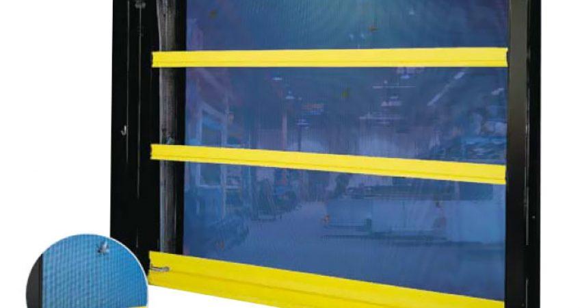 Porte moustiquaire industrielle